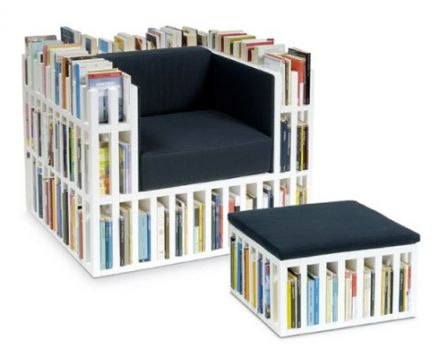 Fauteuil Livres Ody
