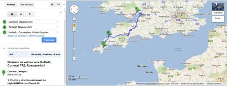 CARTE_Carduel_Tintagel_Kellivic_google maps