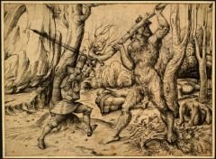 Homme_Sauvage_commons.wikimedia.orgwiki/File:The_Fight_in_the_Forest_Hans_Burgkmair_