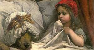 Petit Chaperon Rouge_Gustave doré 1862_National Gallery of VictoriaMelbourne
